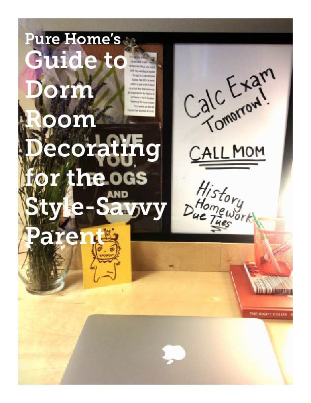 Sending your teen off to college can be hard, but helping them decorate their dorm doesn't have to be! Just enter your email address below to download our super handy and very helpful Guide to Dorm Decorating for the Style-Savvy Parent. In This Guide: How to Personalize a Shared Space Tips for Surviving the Dorm …