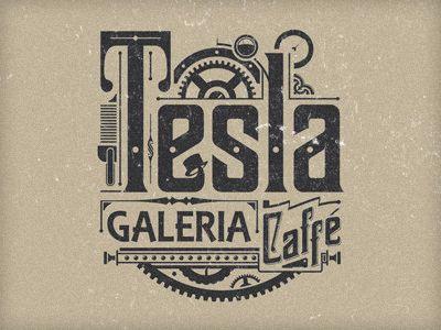 visualgraphic:Tesla Logo via by9tumblr.com #typography