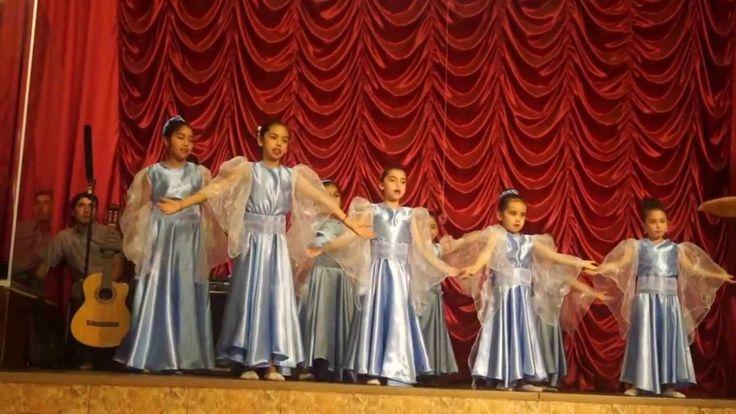 Alabanzas al Rey- Grupo de danza Escuela Dominical - YouTube