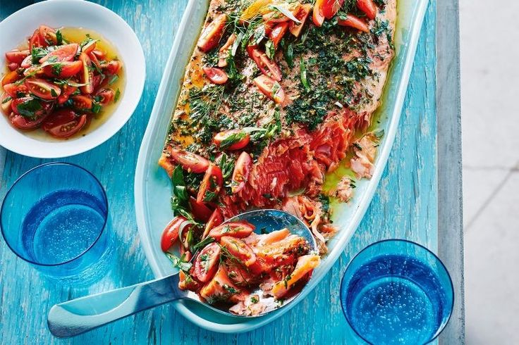 The humble grilled salmon just not doing it for you anymore? Well spice up this Summer favourite with spoonfuls of gorgeous sauce vierge.