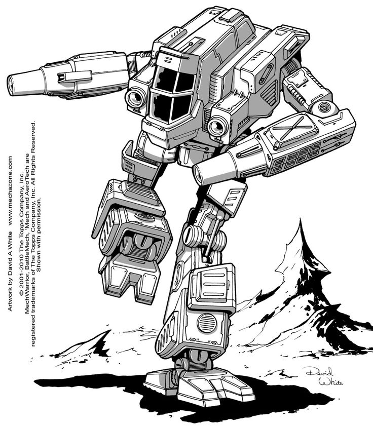 39 best Robot and Mecha Art by David A. White images on