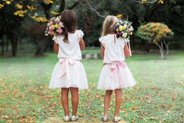 Un beau jour - Top Mia et Jupe Chloe, ceinture rose dragee6