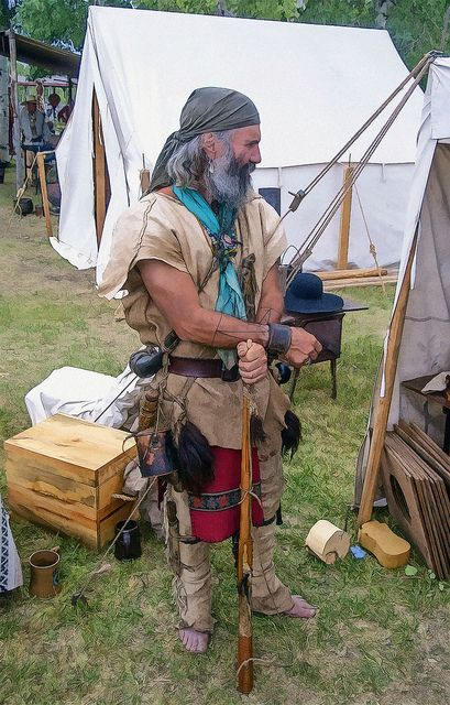 Mountain Man, Fort Bridger Rendezvous, Wyoming, USA © 2009 Patrick Alan Swigart, Gone to Look for America | by Patrick Alan Swigart