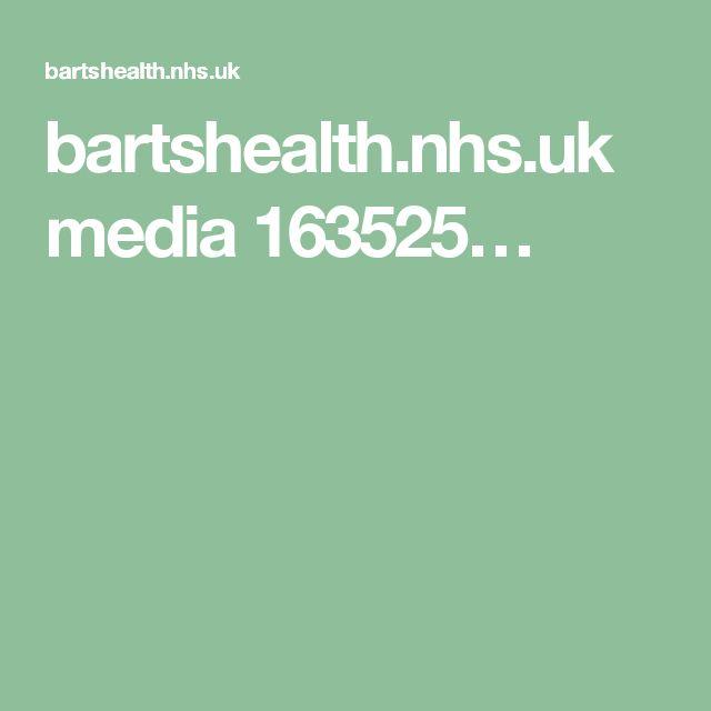 bartshealth.nhs.uk media 163525…