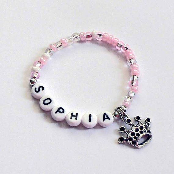 Personalized Princess Party Favors for kids Name by stargazinglily, $4.00