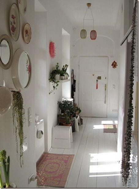 Cómo decorar el pasillo de tu casa. Ideas distintas con fotos.  #decoración