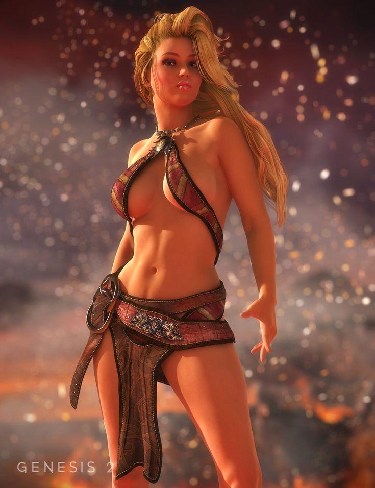Prehistoric Princess | 3D Models and 3D Software by Daz 3D