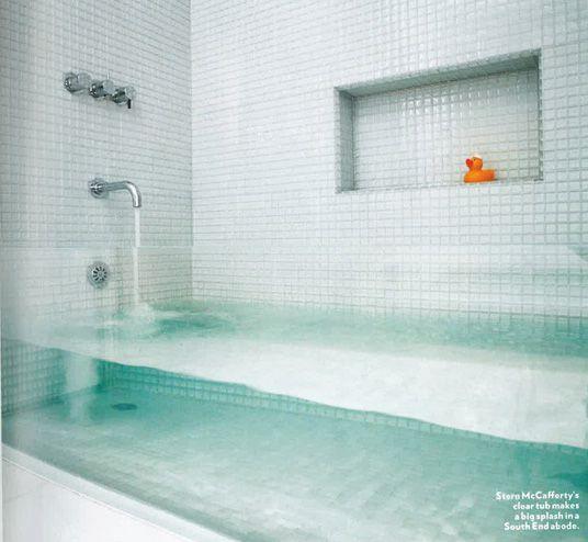 See Through Bath!