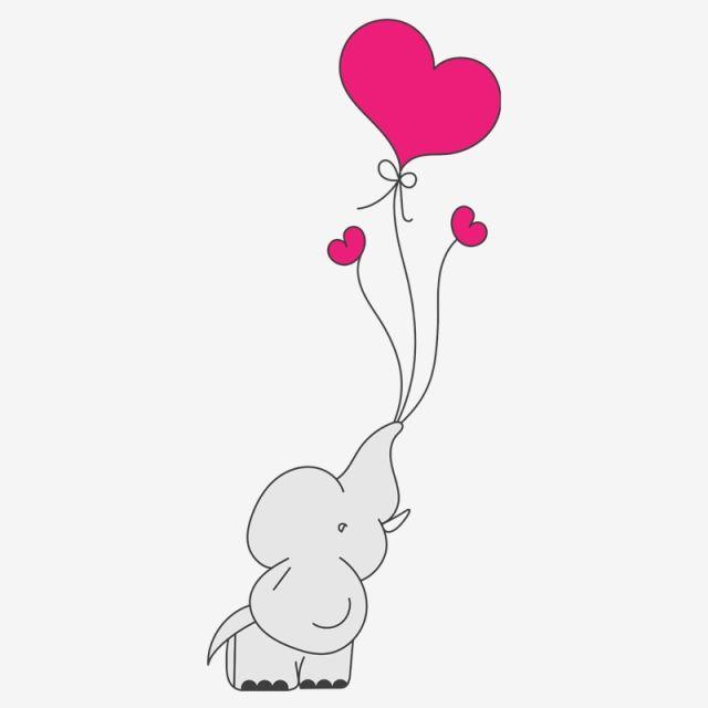 ilustracao de elefante de chuveiro coracao baloes chuveiro elefante guarda chuva imagem png e vetor para download gratuito elephant illustration elephant background graphic design background templates pinterest