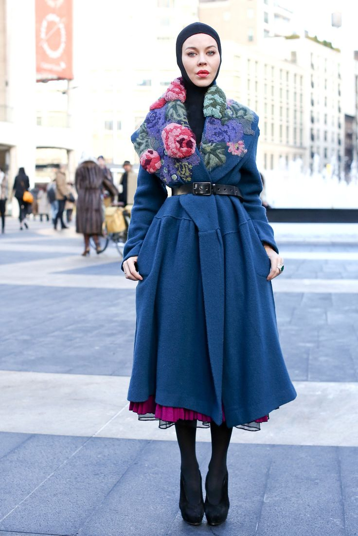 Luce Embroidery - Street Style Spotlight: Statement Coats - Photos