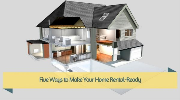 Five Ways to Make Your Home Rental-Ready