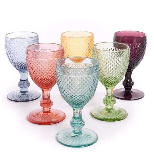 Portuguese Wine Glasses #winelovers drink from the rainbow of flavors that you will discover with #Portugals grape varieties.