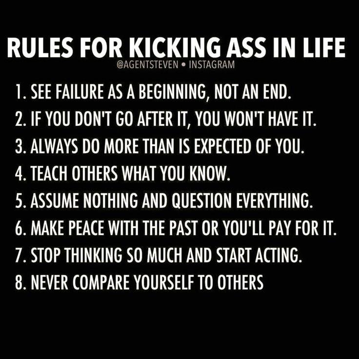 Kick ass rules