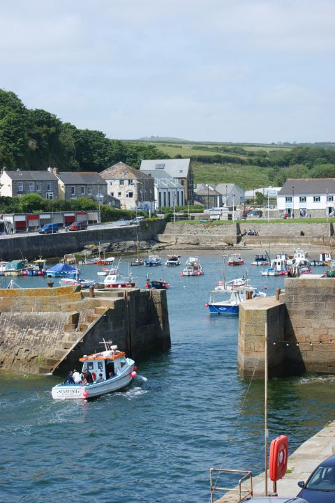 Porthleven in Cornwall. UK