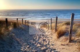 Afbeeldingsresultaat voor fotobehang strand zonsondergang