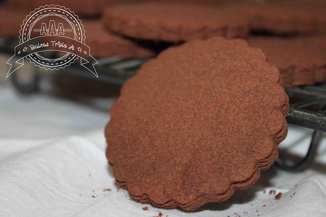 Galletas de Chocolate Sin Gluten | DULCES TRIPLE A