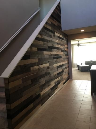 1/2 in. x 4 in. x 4 ft. Weathered Hardwood Board (8-Piece ...