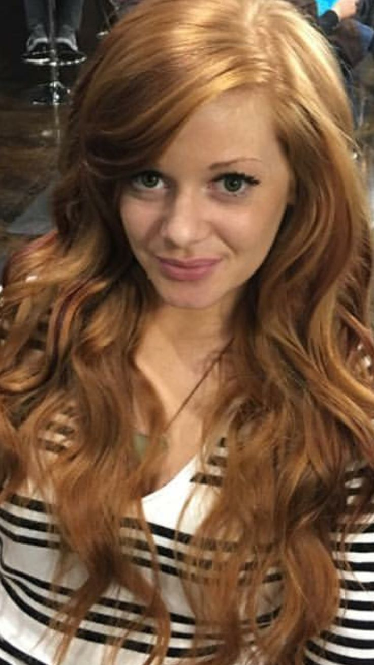 Long Natural Red Hair With Red Lowlights Long Layers And