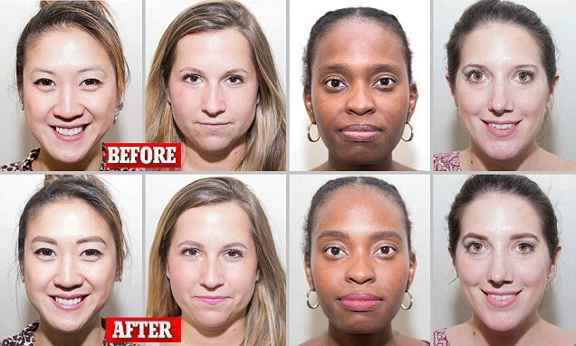 Eyebrow expert transforms the appearance of 4 women in mere minutes!
