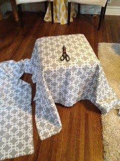 17 Best Ideas About Ottoman Slipcover On Pinterest Do