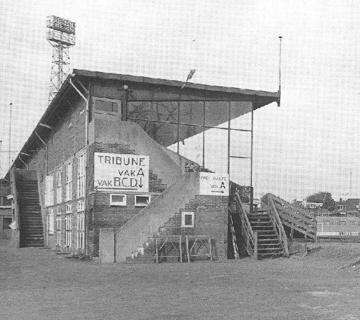 Go Ahead Eagles stadion eind jaren '60