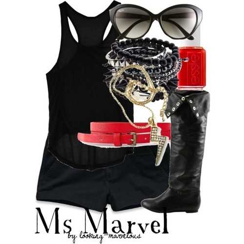 Ms. Marvel Inspired Outfit