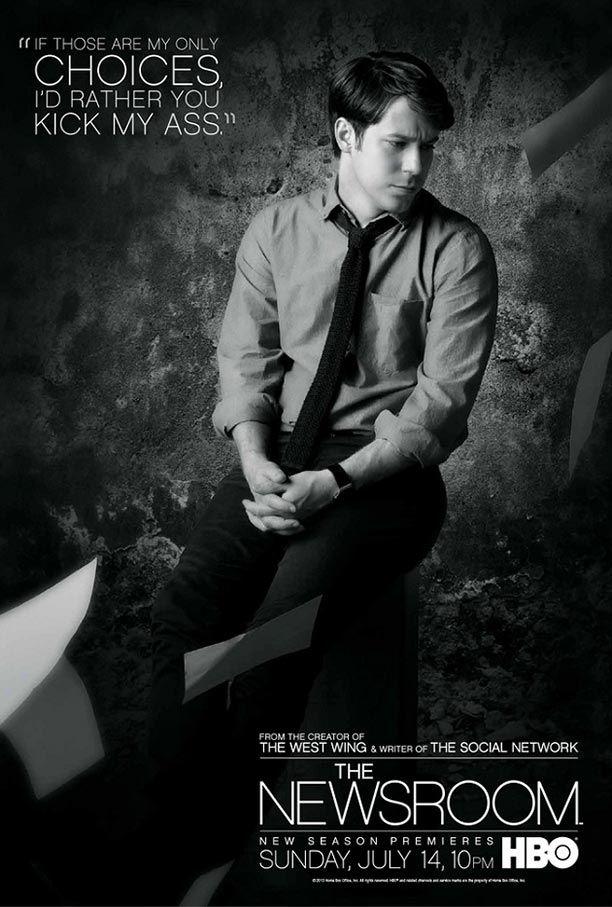 'Newsroom' posters Season 2 - John Gallagher Jr.