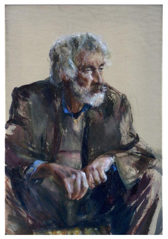 .portret van matthijs roling 80 x 55 cm olieverf op doek 2012