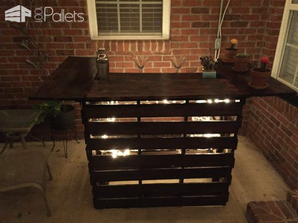 1000 Images About Pallet Bars On Pinterest Bar Tables