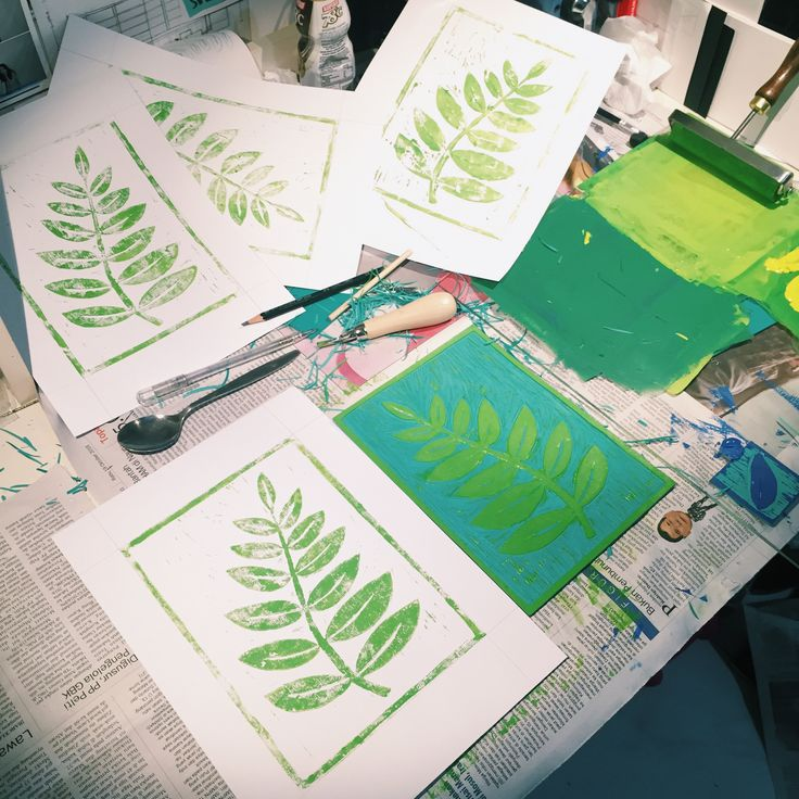 Lino cut workshop #3 13/11/16