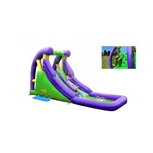 Inflatable-Water-Slide-Bounce-House-Double-Bouncer-Jumper-Party-Pool-Playground