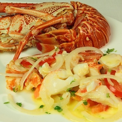 "Sardinian ""Aragosta alla Catalana"" (Catalan Lobster) <3 one of my strong points"