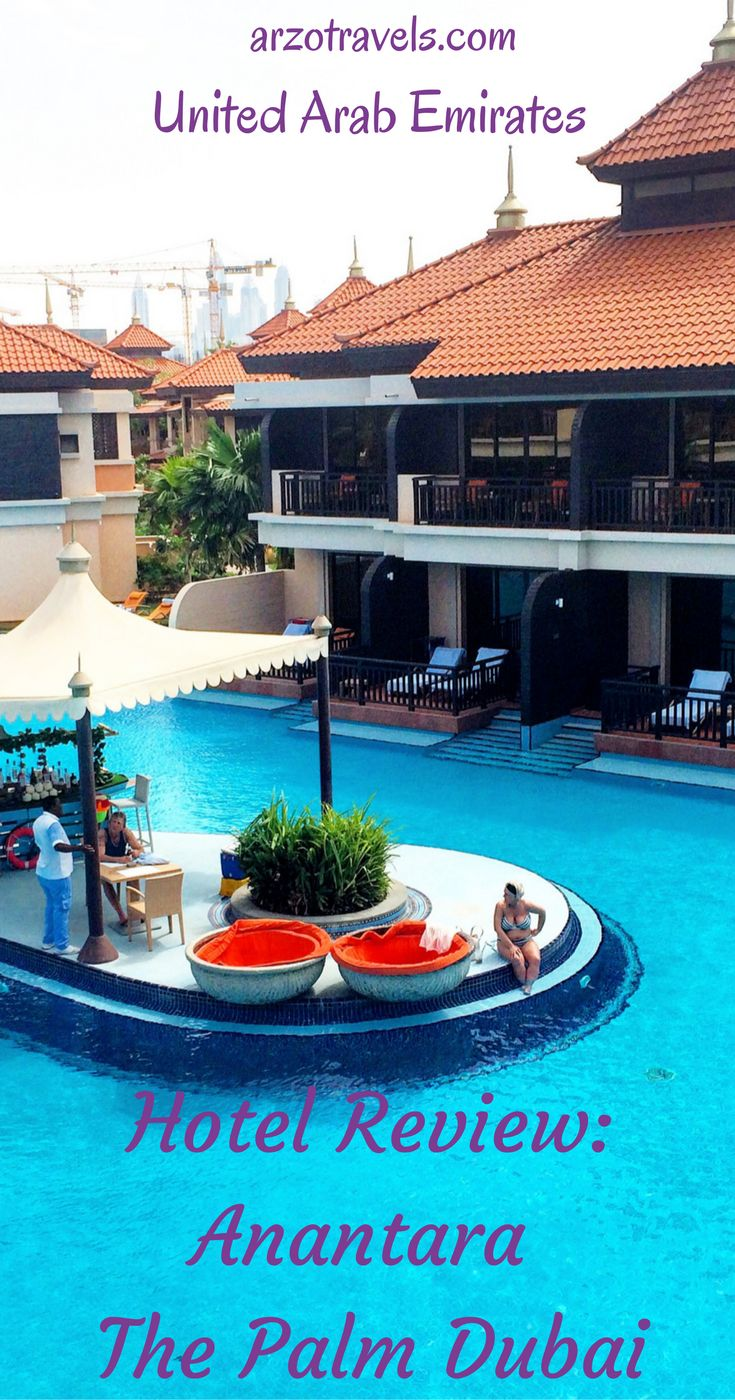 Read the hotel review of the luxury resort: Anantara The Palm Dubai