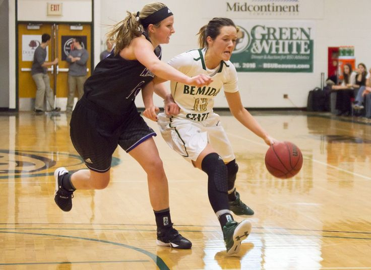 Amy Pelzer hit five 3-pointers Friday, but it wasn't enough as U-Mary defeated BSU 75-67. Check out our photo gallery: http://www.bsubeavers.com/wbasketball/photos/2015-16/793/wbasketball-vs-winona-state-12916/