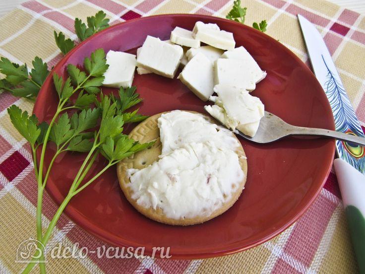 Плавленый сыр с ветчиной #сыр #плавленыйсыр #закуска #рецепты #деловкуса #готовимсделовкуса