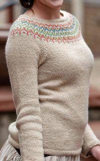 Learn something new: Bohus Knitting (plus a free pattern!) - Knitting Daily - Blogs - Knitting Daily