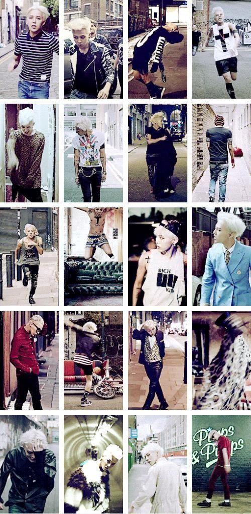 G-Dragon (Kwon Ji Yong ) ♡ #BIGBANG - Crooked MV outfits