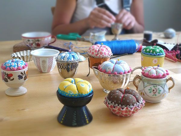 pin cushions | Every pincushins are only one design.