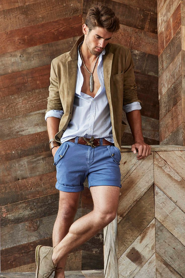 Chad White Models Michael Bastians Southwest Inspired Spring 2015 Collection image Michael Bastian Spring Summer 2015 Collection Chad White 003