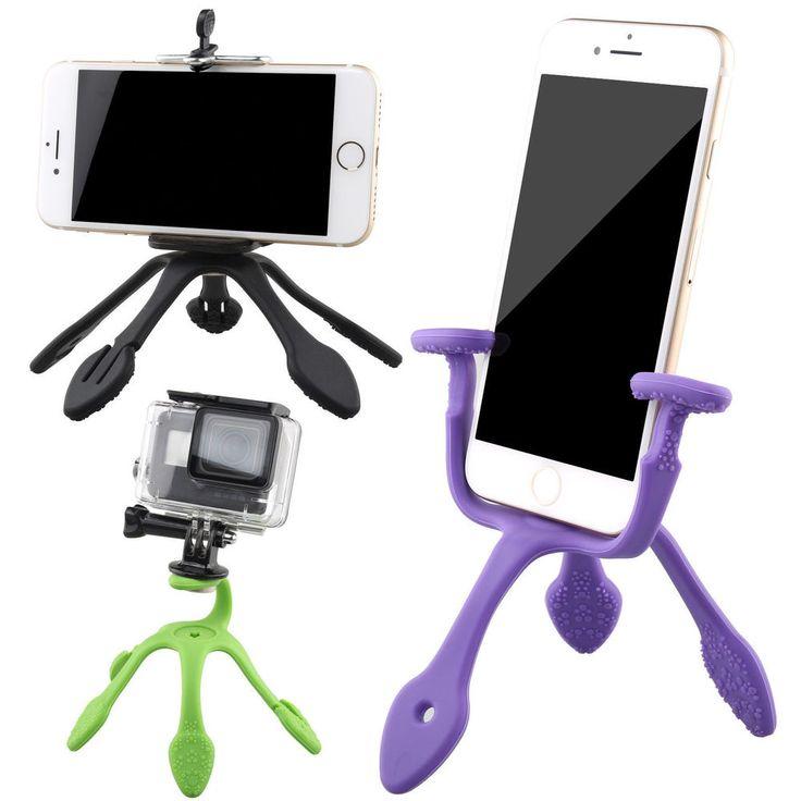 Smartphone GoPro Camera Portable Mini Tripod Mount Anywhere Flexible Stand Holde #Unbranded #love #me #tbt #cute #follow #followme #photooftheday #onlineshopping #ebay #ebayseller #ebaystore