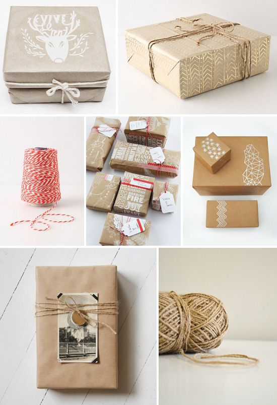 Piqued My Pinterest: Brown Paper Packages...