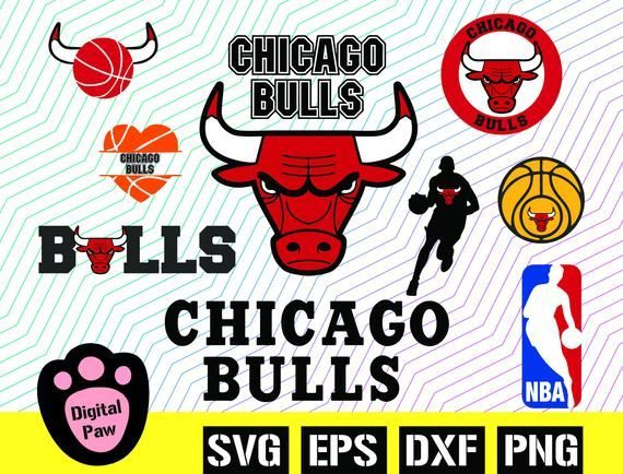 Chicago Bulls Logo Chicago Bulls Svg Bunle Bulls Vector By Digitalpaw Bulls Bunle Chicago Logo Svg V In 2020 Chicago Bulls Logo Logo Chicago Bulls Chicago Bulls