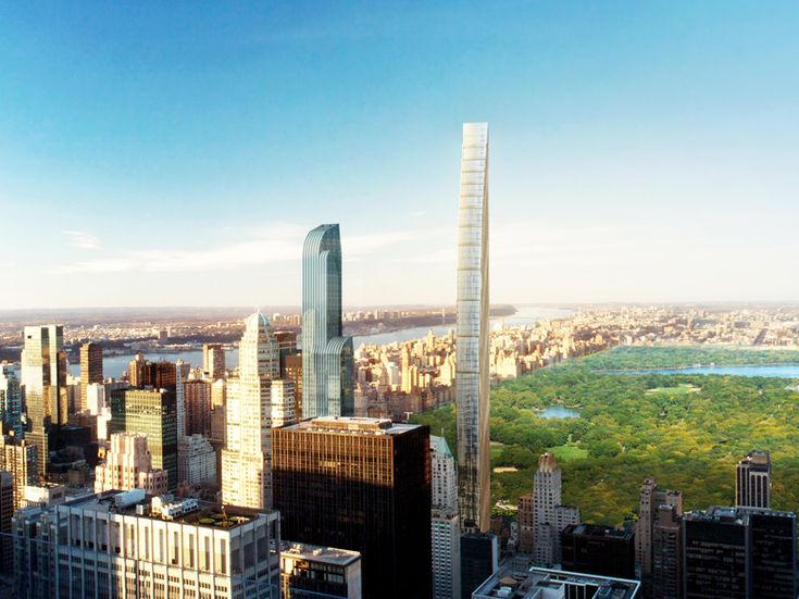 SHoP architects get approval for skinny skyscraper in new york - designboom | architecture