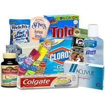 List of companies that will send you free products or coupons.