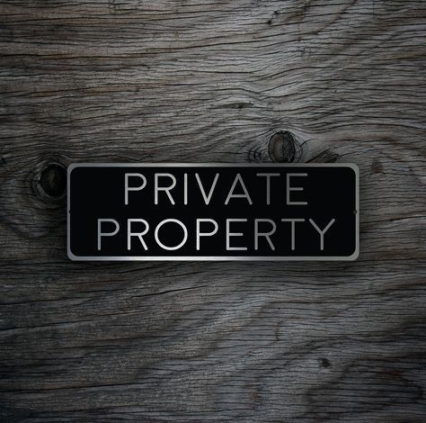 PRIVATE PROPERTY SIGN, Private Property signs, Custom Outdoor Signs, Private Property Plaque, Outdoor Property Signs, Private House Signs by DecaModa on Etsy