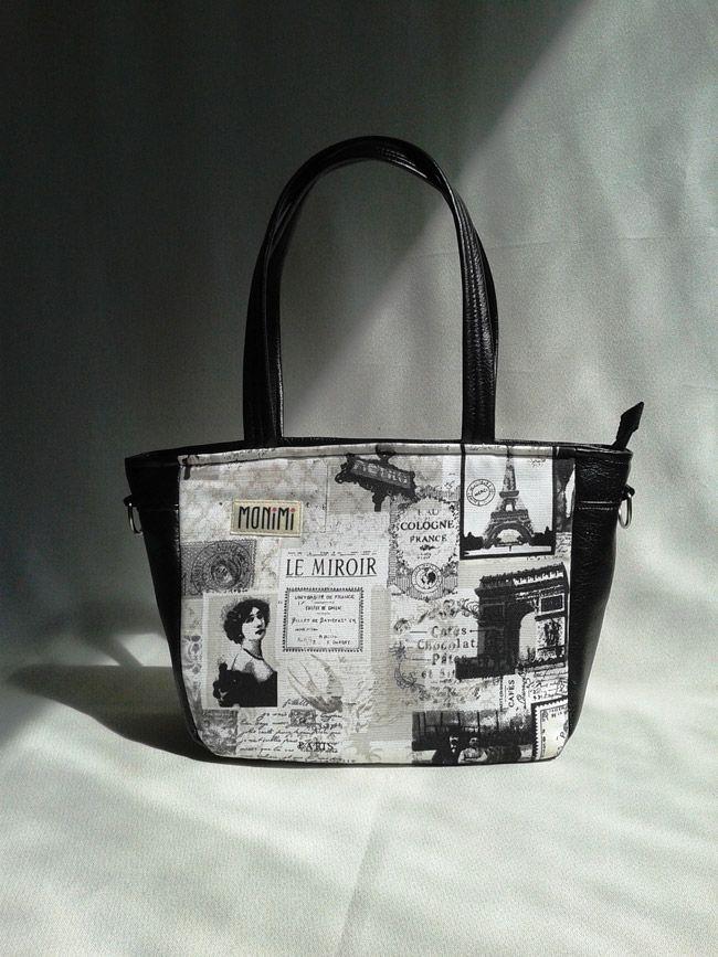 #Párizs! Te is szeretnél elutazni oda? Kizárólag romantikusoknak. City-bag női #táska.
