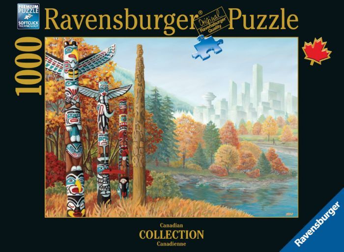Ravensburger Puzzle 1000pc - When Two Worlds Collide