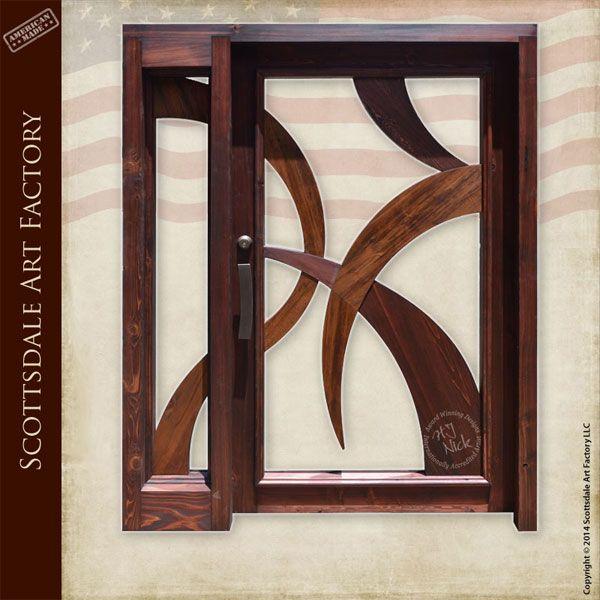 Modern Design Handcrafted Custom Wood Doors