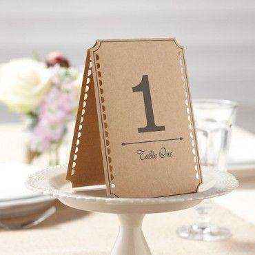 Has pensado ya en los meseros para tu boda? Si te gusta el estilo rústico y natural te proponemos estos de papel kraft a un precio anti-crisis: 12 meseros por 6'5€!! Sí, has oído bien!  http://www.unabodaoriginal.es/es/mesero-kraft.html