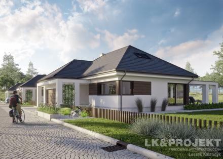Projekty domov LK Projekt LK-1332 Predné obrázok